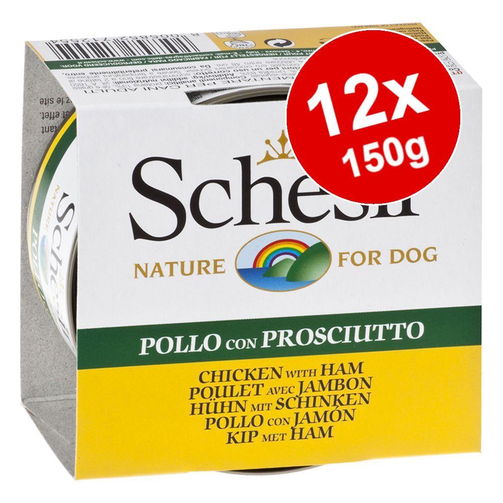 Sparpaket Schesir 12 x 150 g - Hühnerfilet