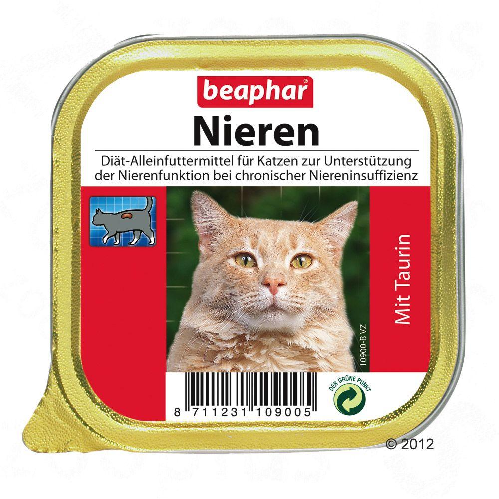 6 x 100 g beaphar Nieren-Diät Katzennassfutter mit Taurin
