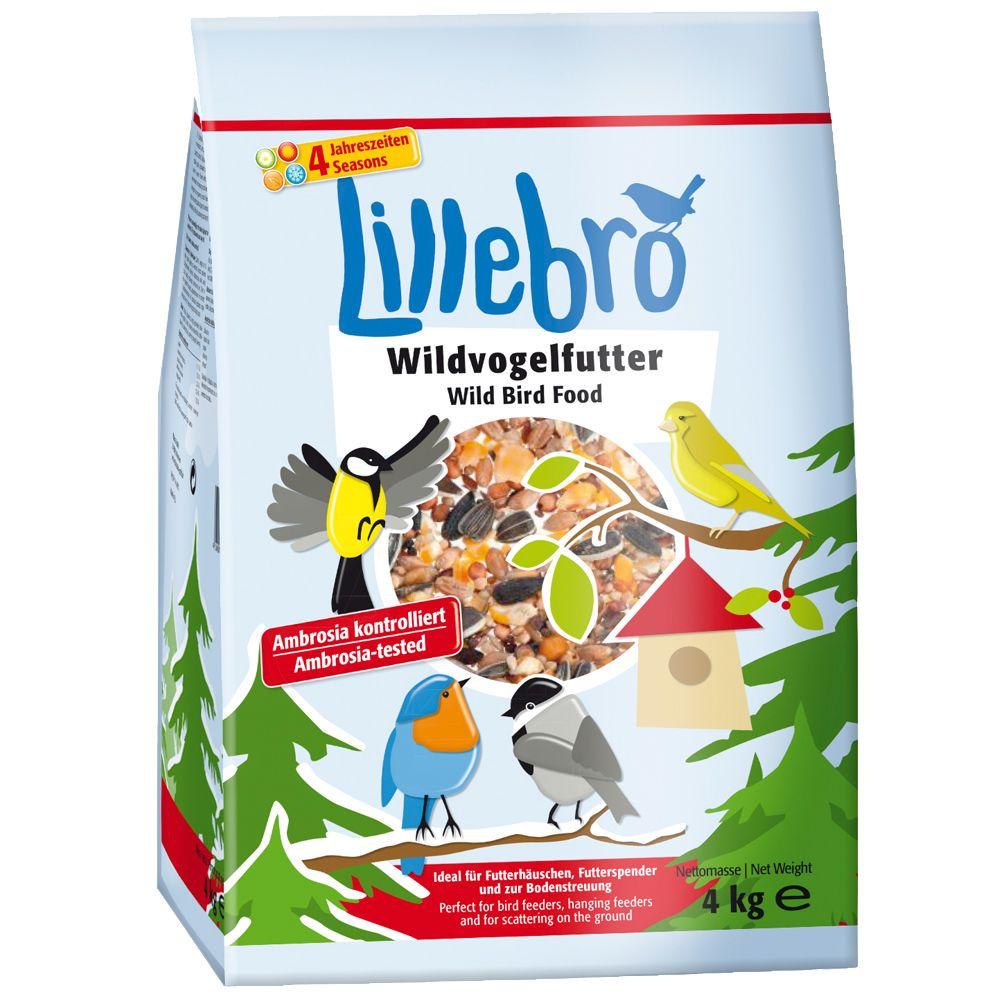 3 x 4 kg Lillebro Wildvogelfutter