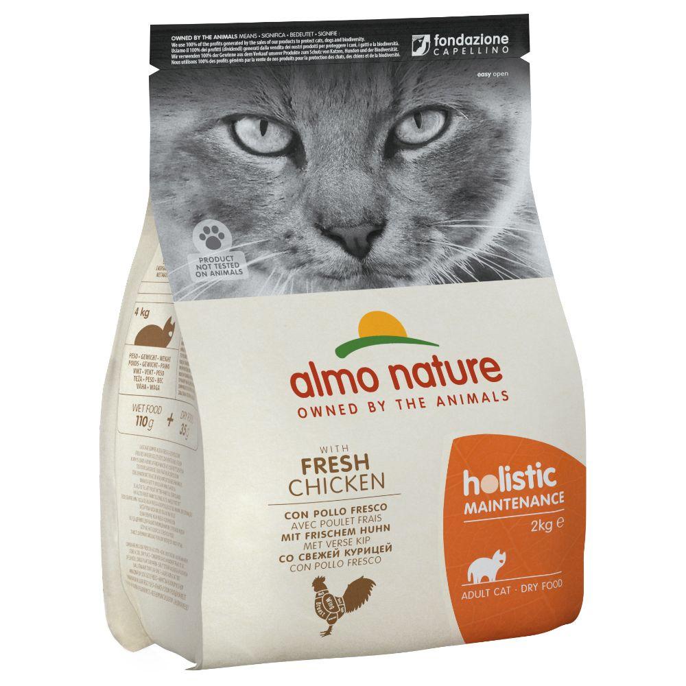 12kg Holistic Poulet/riz Almo Nature Croquettes pour chat