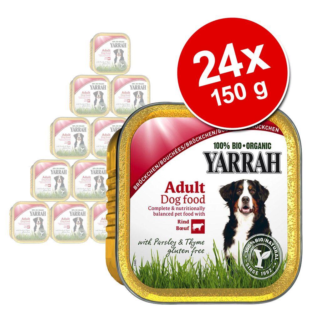 Foto Yarrah Bio Wellness Paté 24 x 150 g - Manzo con Alga Spirulina Yarrah Vaschette