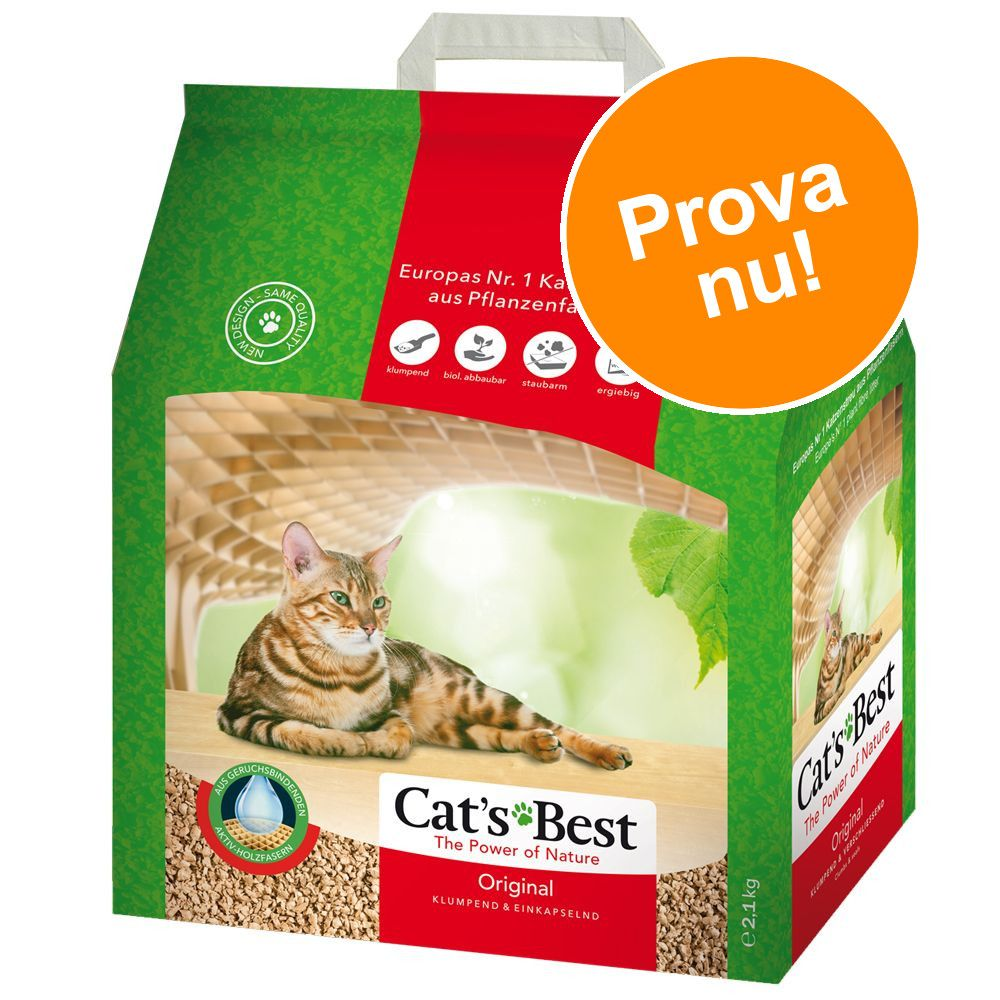Provpack: Cat's Best Original kattströ 5 l - 5 l