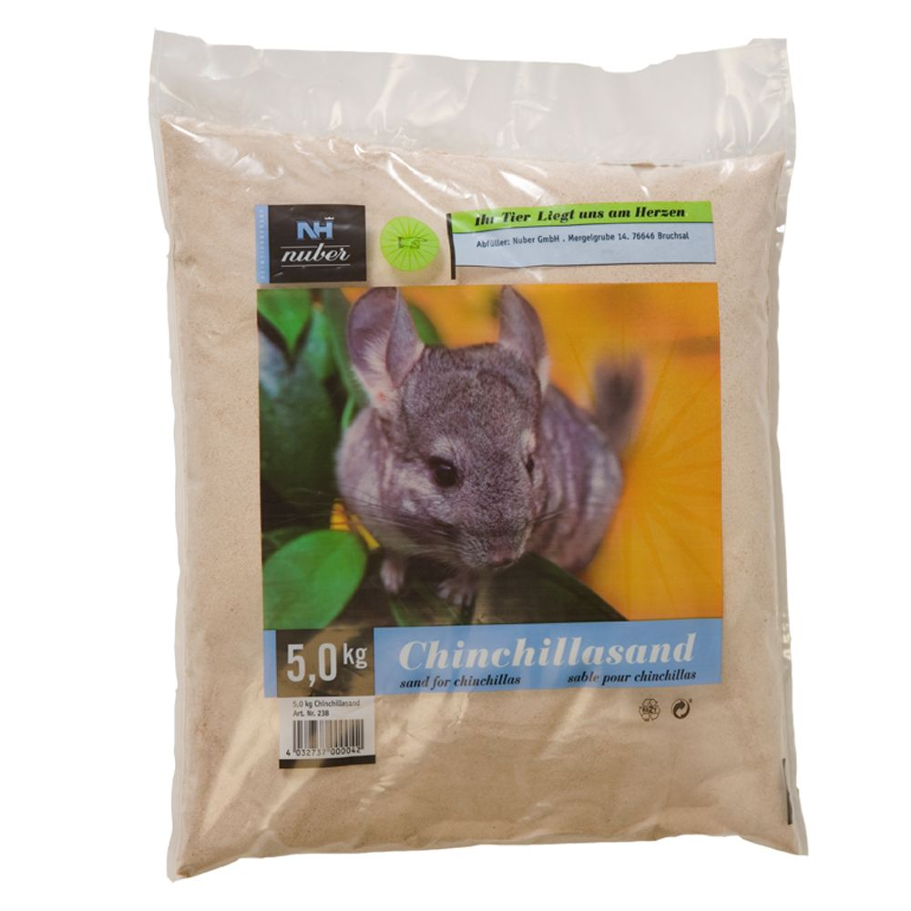 Sable de bain pour chinchilla - 3 x 5 kg