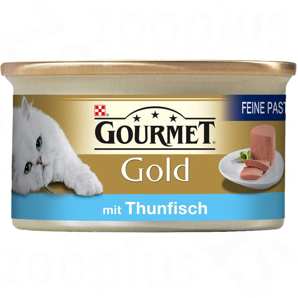 Gourmet Gold Mus, 12 x 85 g - Tuńczyk