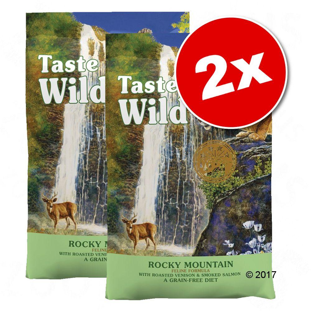2x6,6kg Taste of the Wild Rocky Mountain Feline - Croquettes pour chat