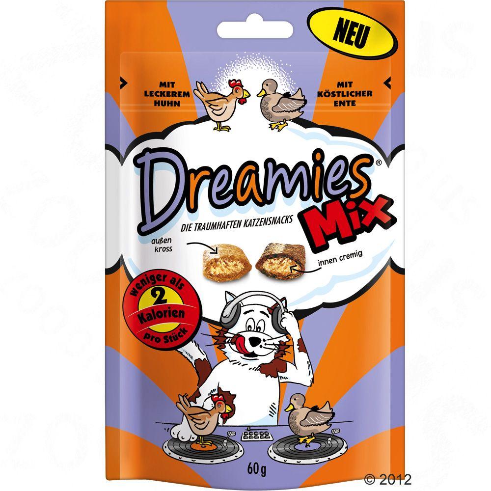 Przysmaki dla kota Dreamies 2 smaki, 60 g - Kurczak z serem