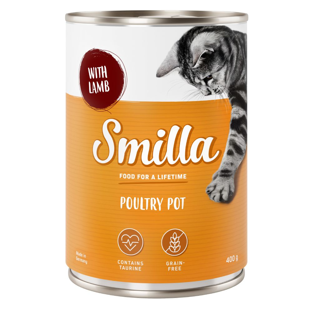 Poultry Mixed Trial Pack 4 Smilla Wet Cat Food