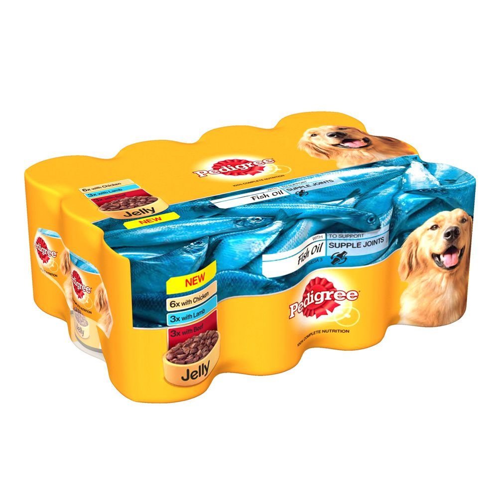 Pedigree Adult Multipack in Jelly with Fish Oil