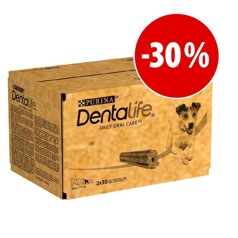 Image of Purina Dentalife Snack per igiene dentale dei cani di tg piccola (7-12 kg) - 108 Stick  (36 x 49 g)
