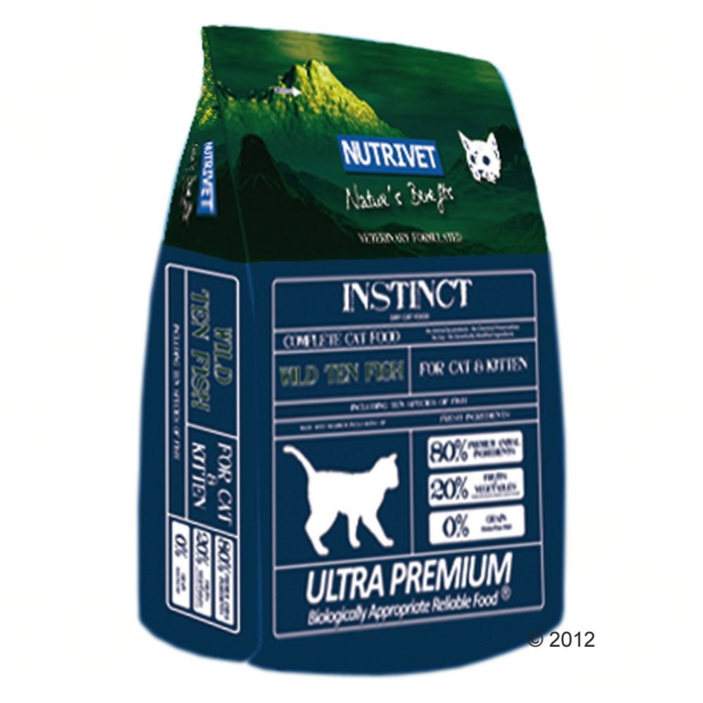 Foto Nutrivet Cat and Kitten Wild Ten Fish - 2 x 6 kg - prezzo top!