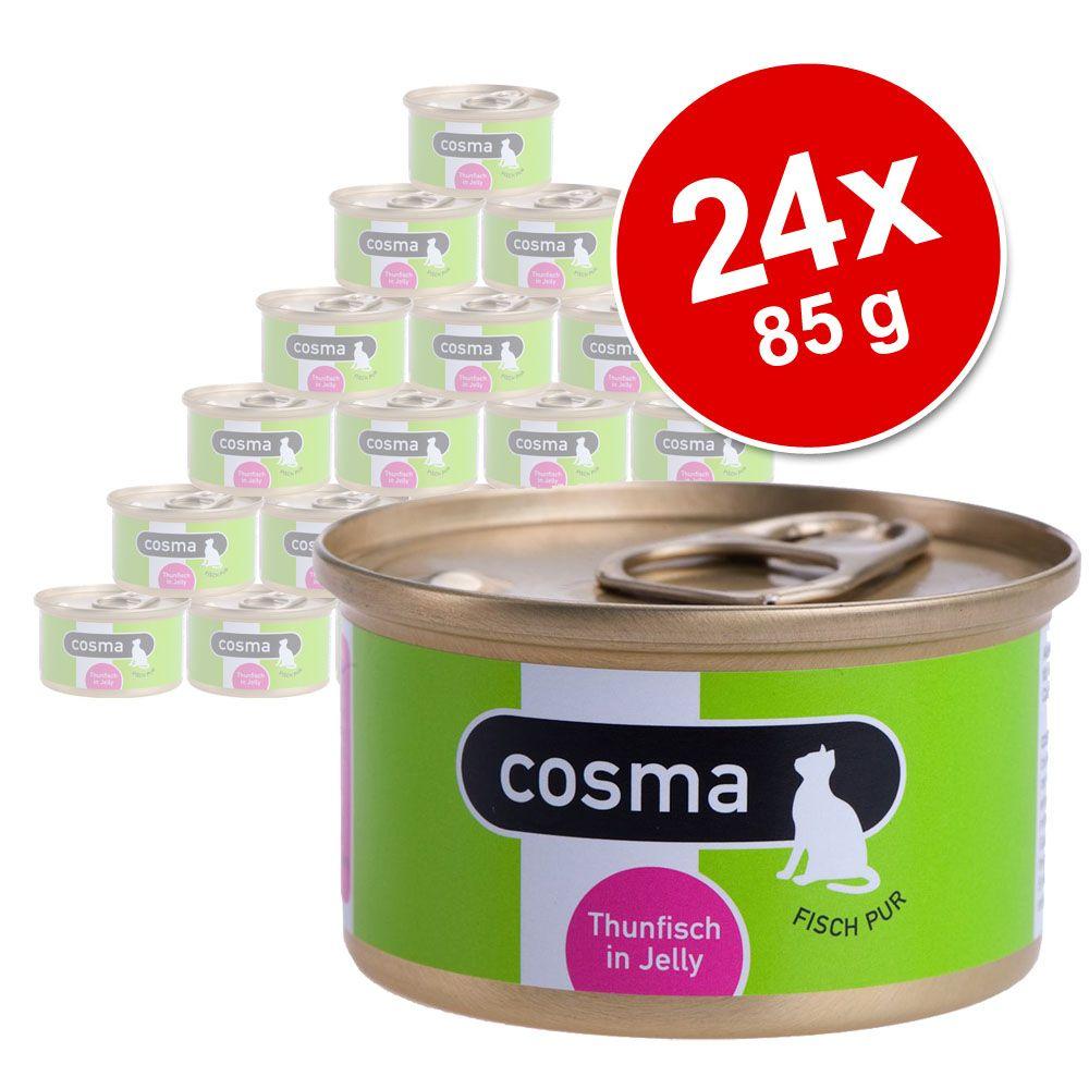 Megapakiet Cosma Original, 24 x 85 g - Tuńczyk