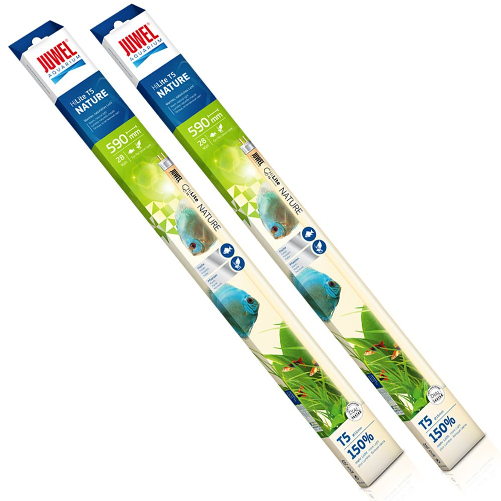 Tubes fluorescents Juwel High-Lite Nature T5 DUO - 2 x 28 W, L 59,0 cm