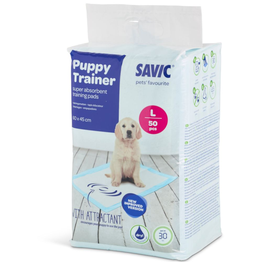 Tapis Puppy Trainer absorbants pour chiot 2x50 tapis