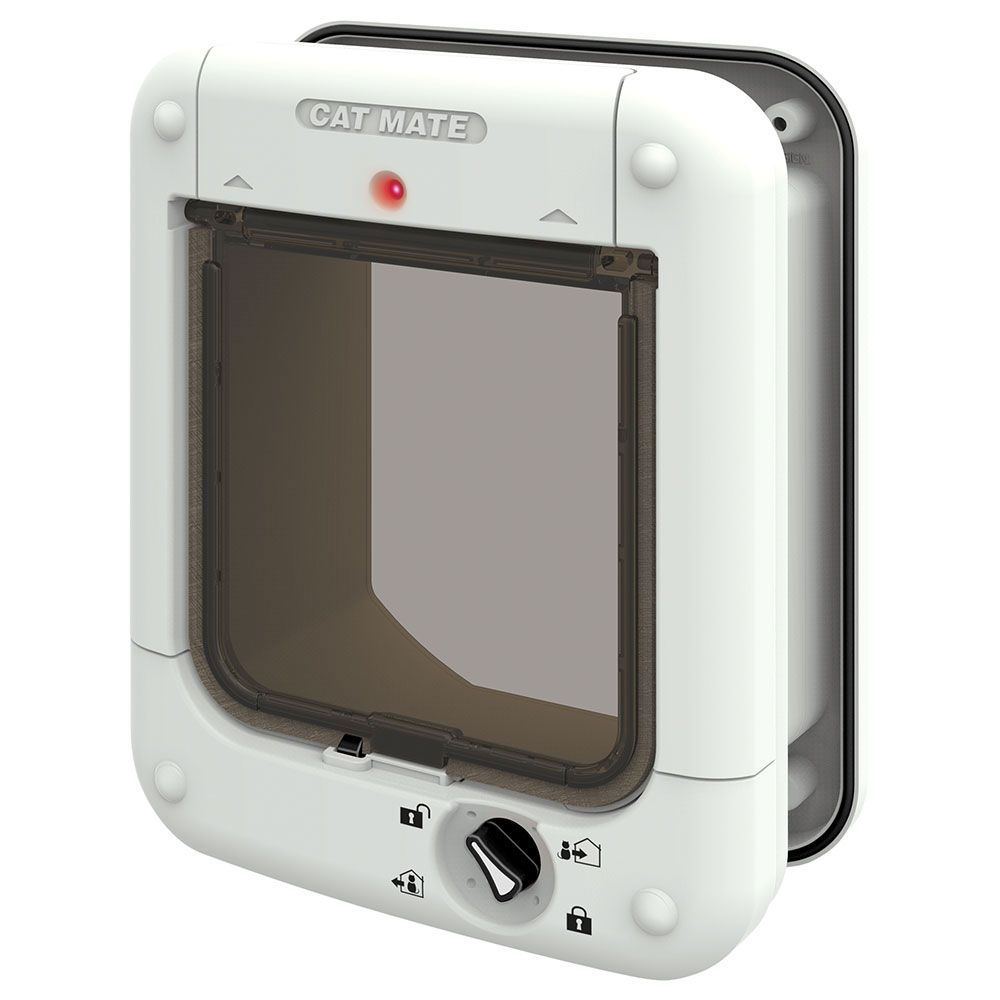 Cat Mate Microchip Cat Flap White