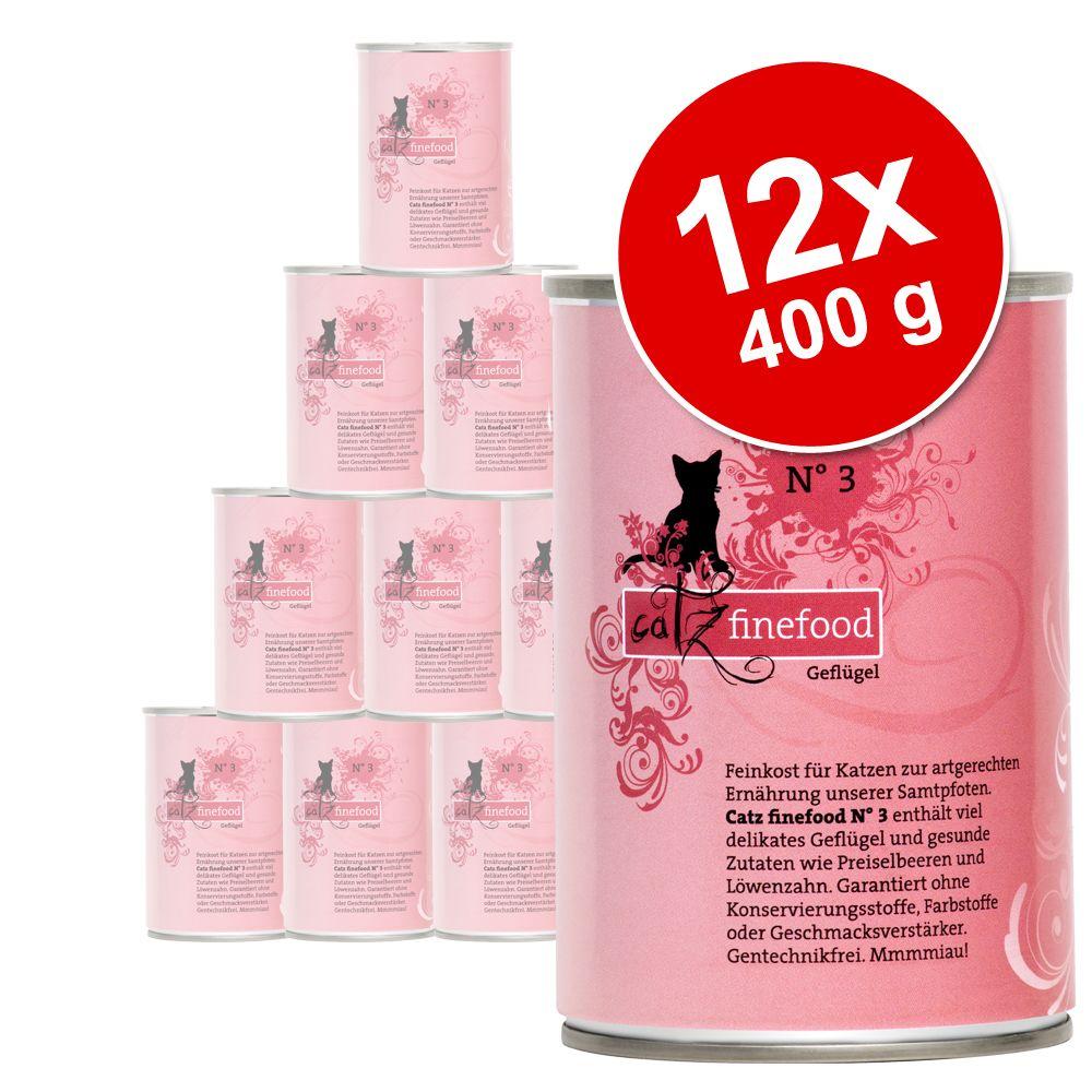 Korzystny pakiet Catz Finefood, 12 x 400 g - Pakiet 1