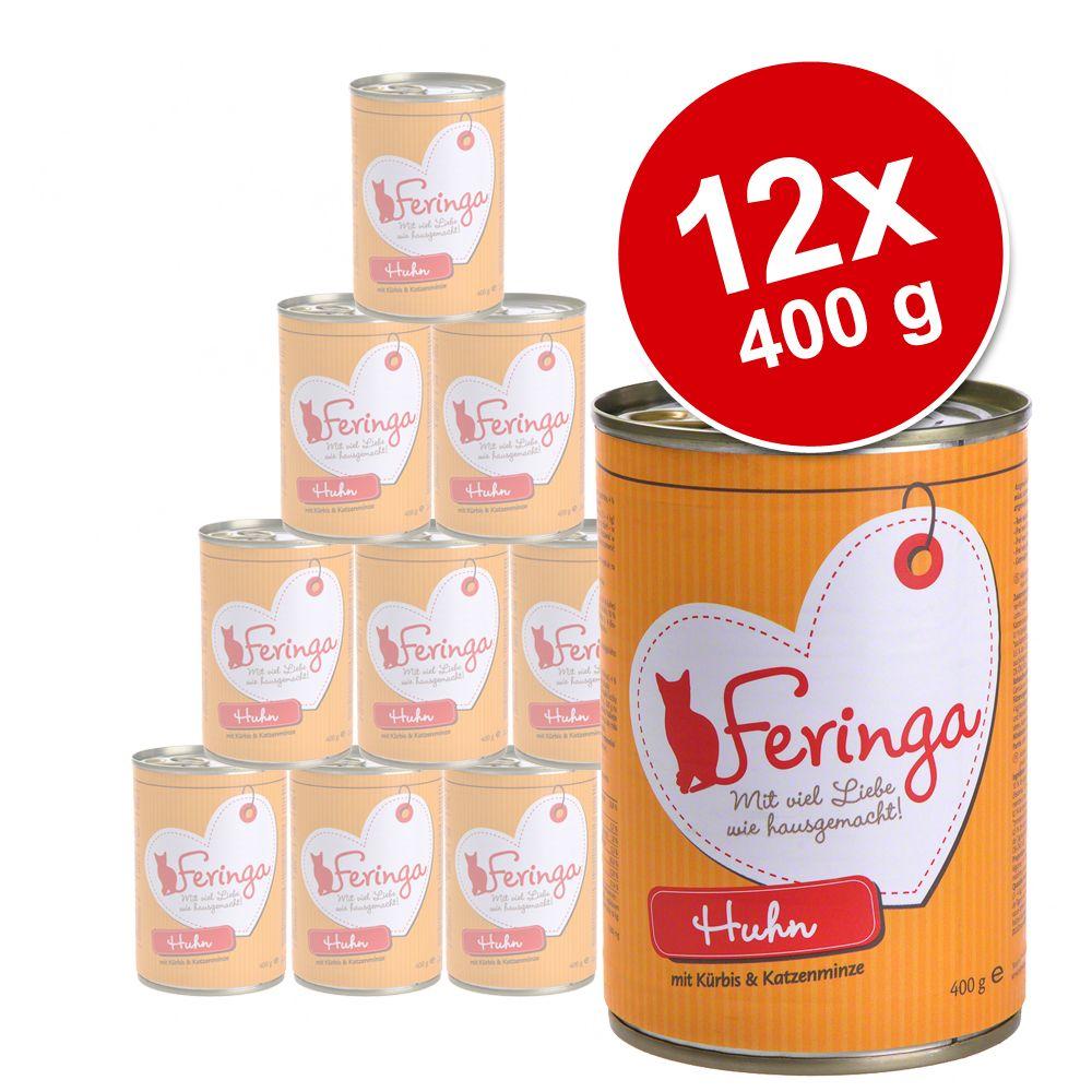 Korzystny pakiet Feringa Menu, 12 x 400 g - Kurczak z dynią i kocimiętką