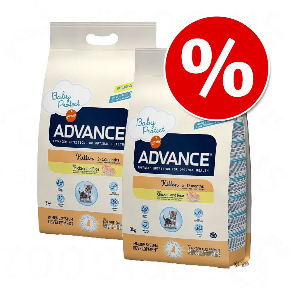 Ekonomipack: Advance kattfoder - Sterilized Turkey (2 x 15 kg)