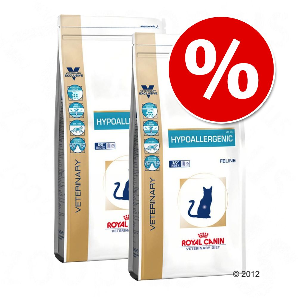 Ekonomipack: 2 påsar Royal Canin Veterinary Diet för katter - Urinary S/O LP 34 (2 x 9 kg)