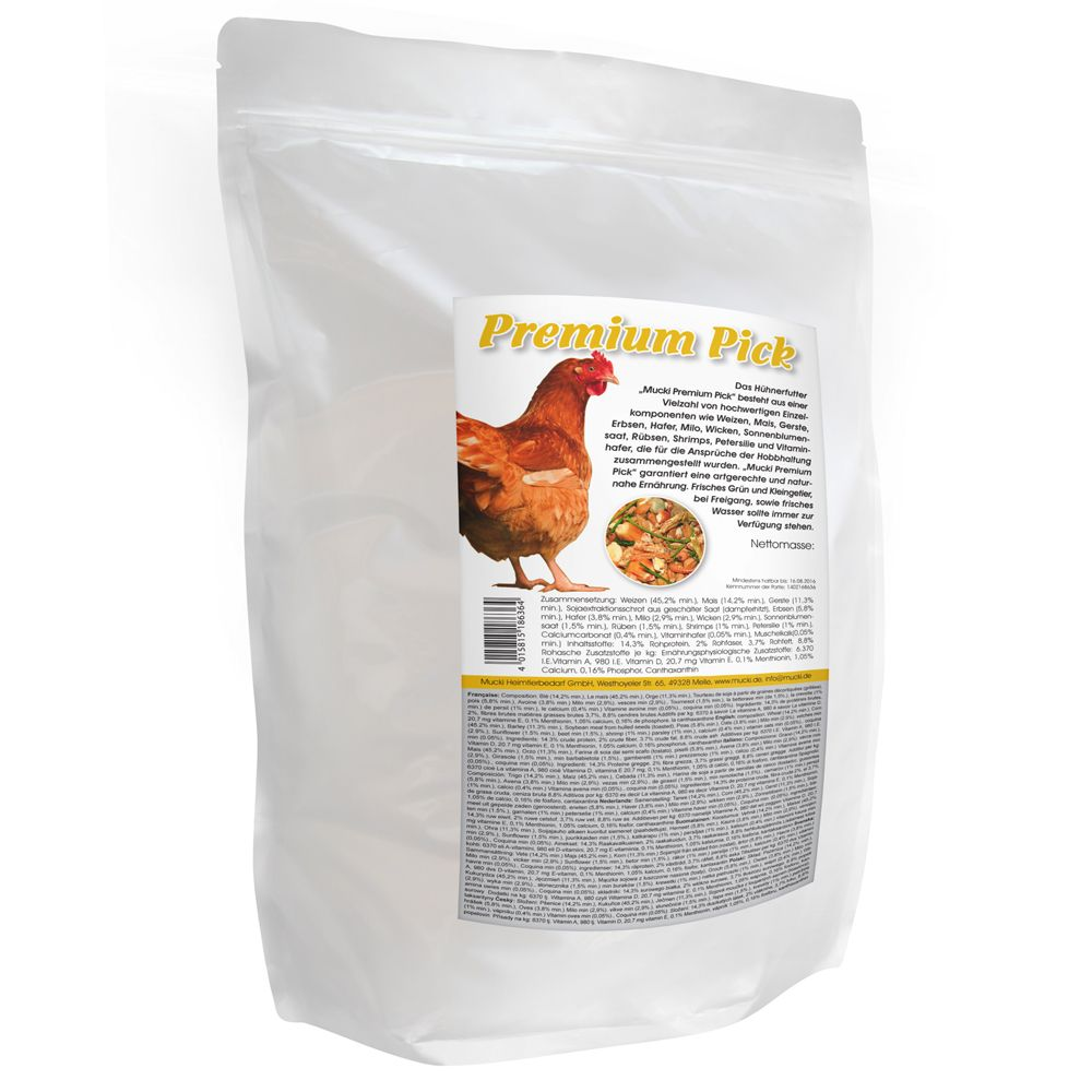 Mucki Premium Pick Chicken Feed