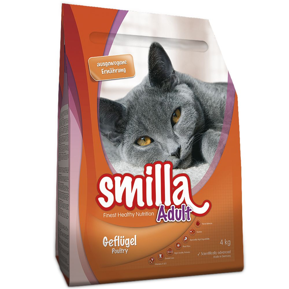 2x4kg Urinary Smilla Dry Cat Food
