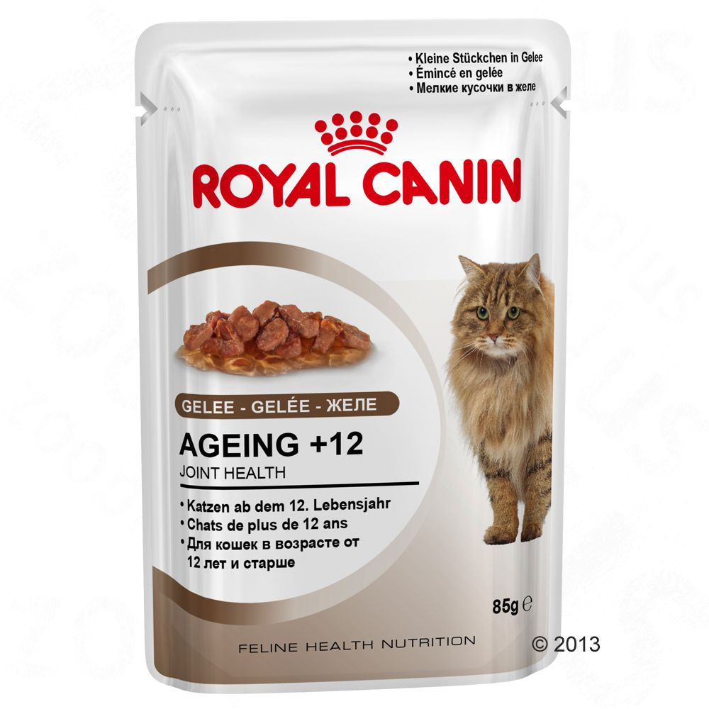 Royal Canin Ageing +12 in Gelee - 12 x 85 g