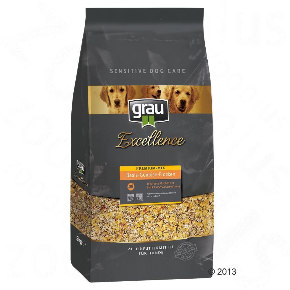 Foto Grau Excellence Premium Mix Fiocchi di Verdura - 3 x 5 kg - prezzo top! Grau Mixer