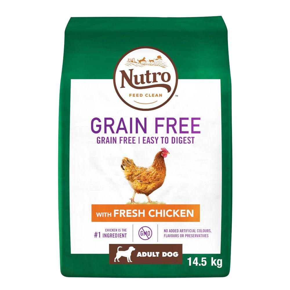 Nutro Grain-Free Dry Dog Food + Greenies Dental Chews - Bundle Price!* - Senior - Lamb (11.5kg)
