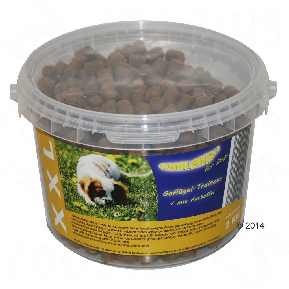 Caniland Soft drobiowe smakołyki XXL w wiaderku - 2 x 2 kg