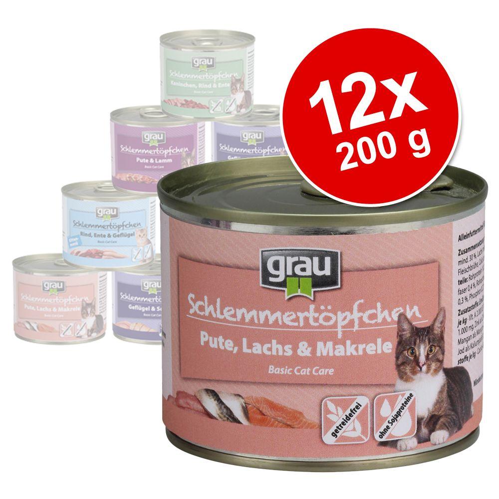 Sparpaket Grau Schlemmertöpfchen Getreidefrei 1...
