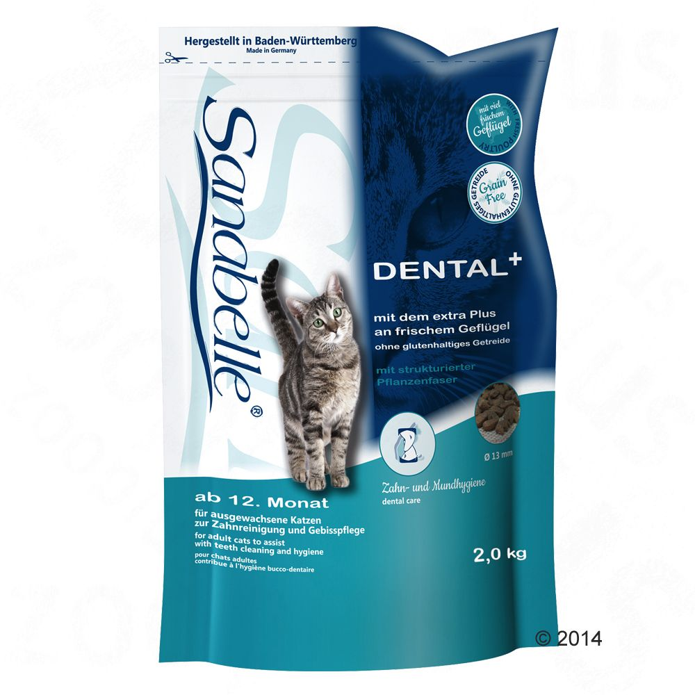 Sanabelle Dental pour chat - 10 kg