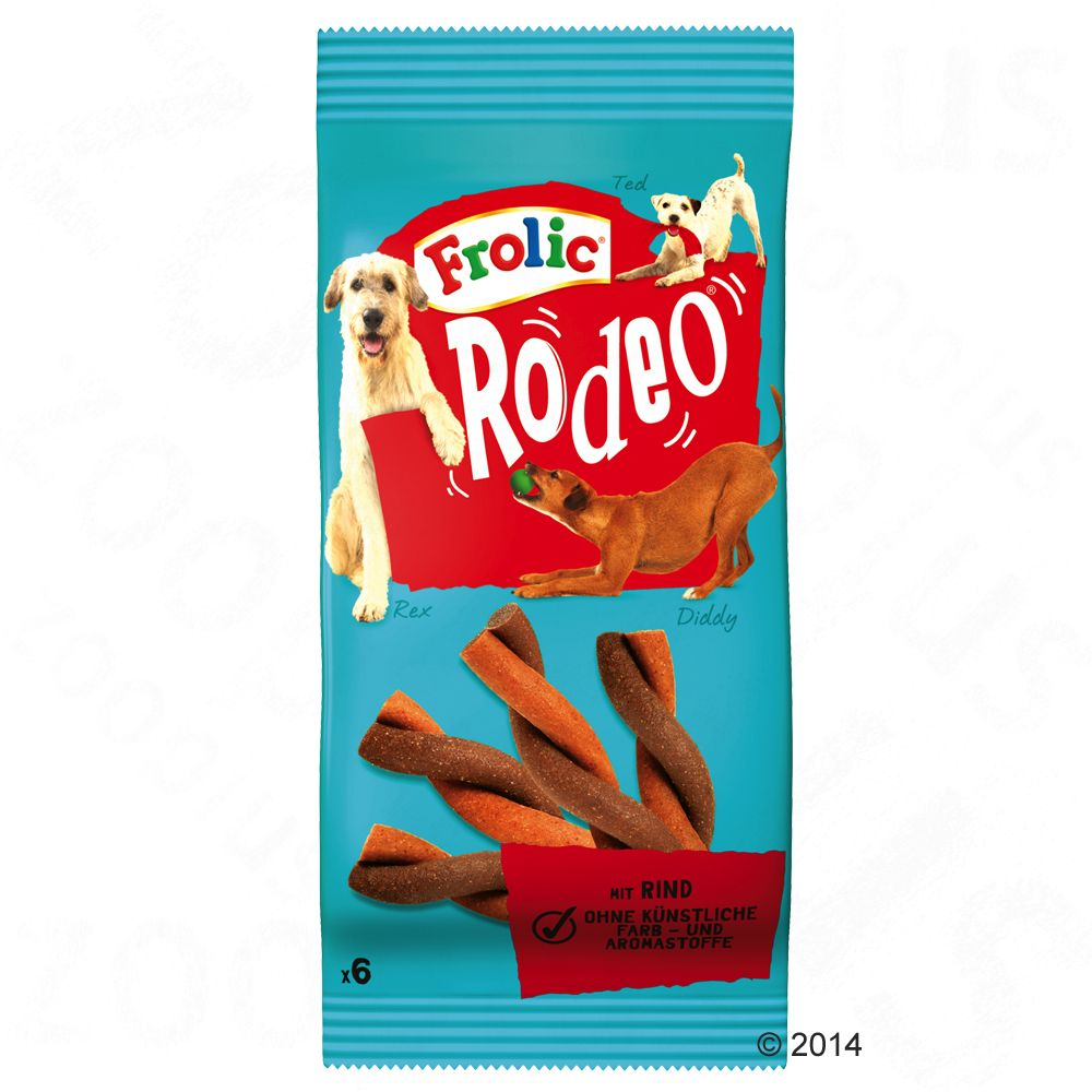 Frolic Rodeo pour chien - 105 g
