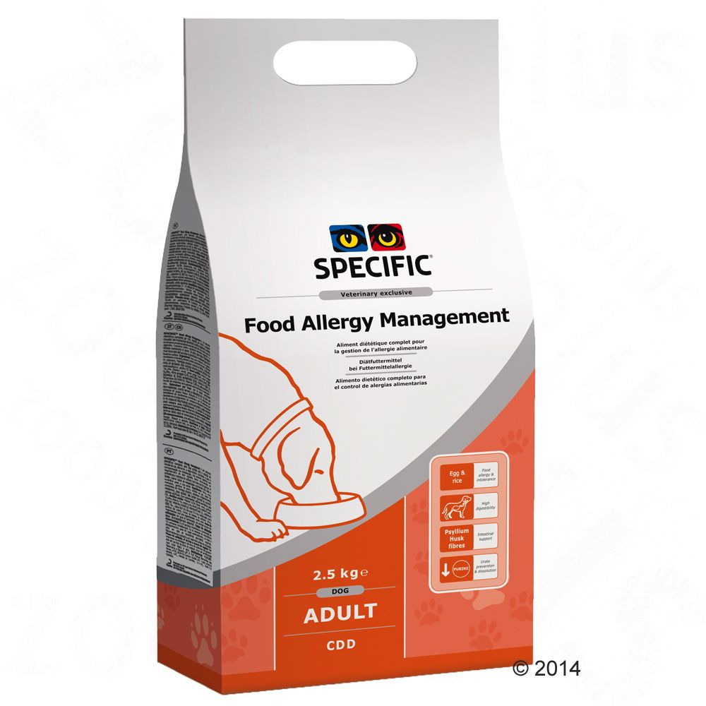 Specific Food Allergy Management Dog