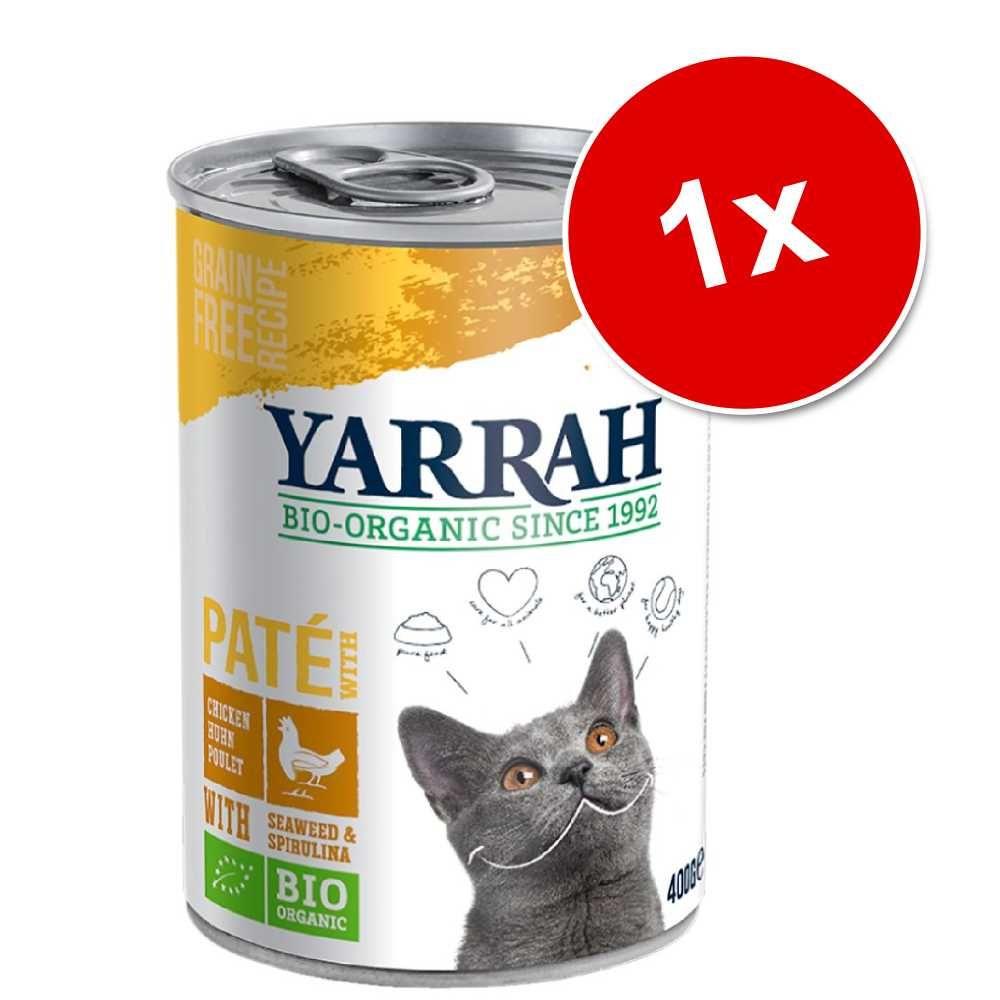 Yarrah Bio Pâté, 1 x 400 g - Kurczak