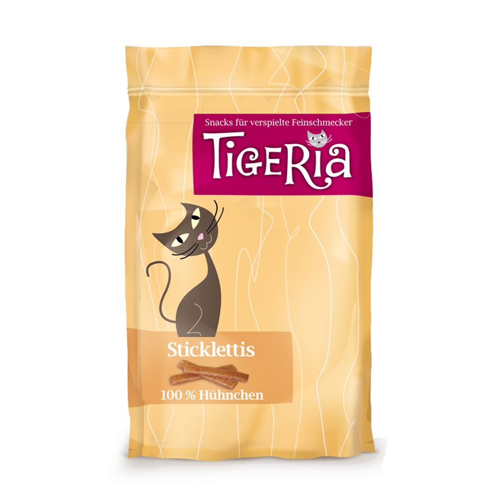 Tigeria Sticklettis Cat Sticks 50g - Duck