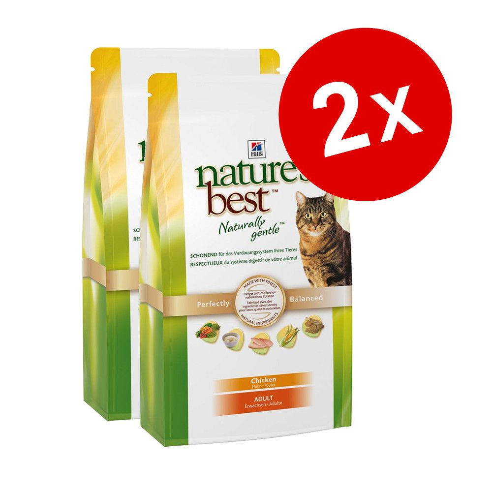 Chat Croquettes Hill´s Nature´s Best Lots économiques croquettes pour chat Hill´s Nature´s Best
