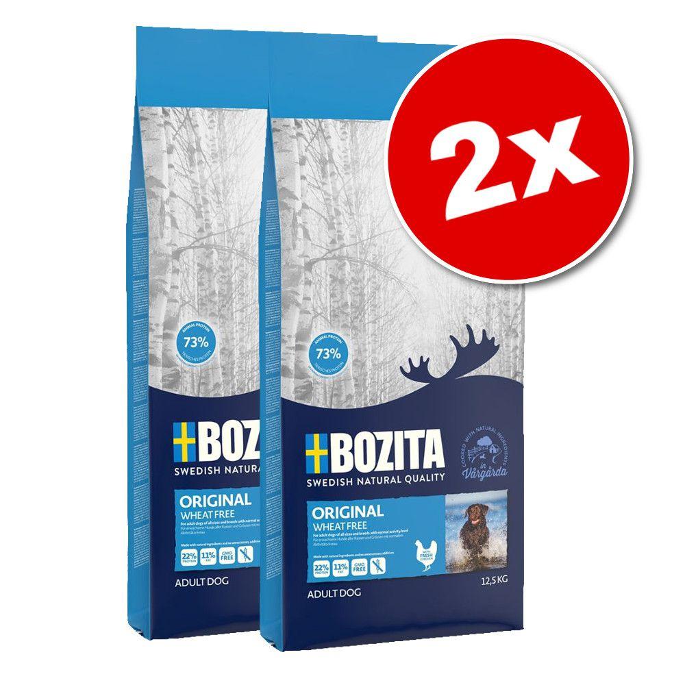 2x12kg Bozita Flavour Plus - Croquettes pour chien