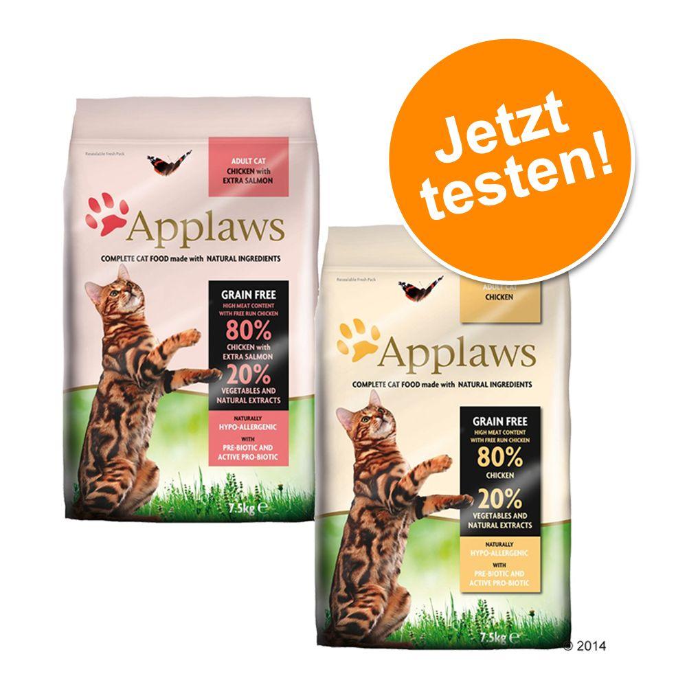Image of 2 x 400 g Applaws im gemischten Probierpaket - Huhn + Huhn & Lachs
