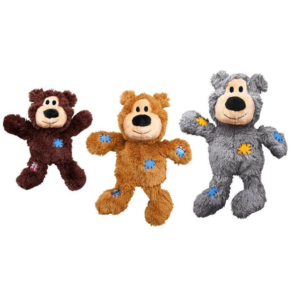 KONG WildKnots Bears - Stl. M/L: L 26 x B 21 x H 10 cm