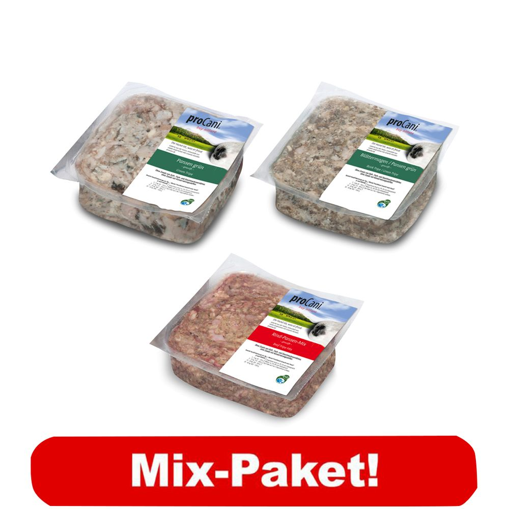 proCani Verdauungs-Paket - 60 x 400 g