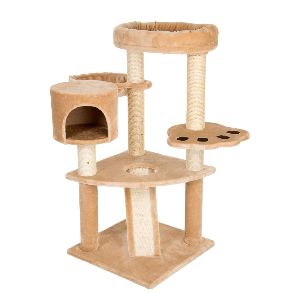 Bear's Den Cat Tree Light Grey