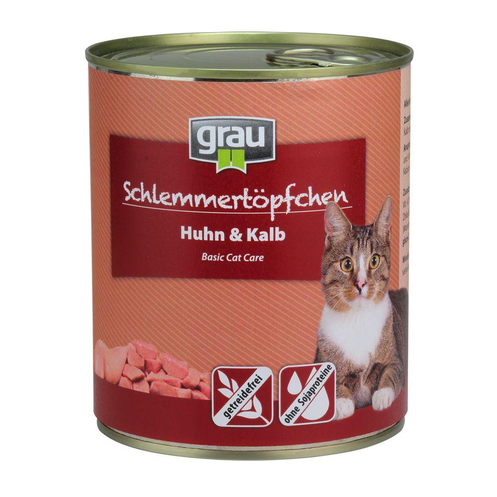 Grau Schlemmertöpfchen getreidefrei 6 x 800 g -...