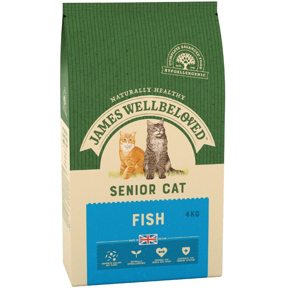Fish Senior 7+ Cat Food James Wellbeloved