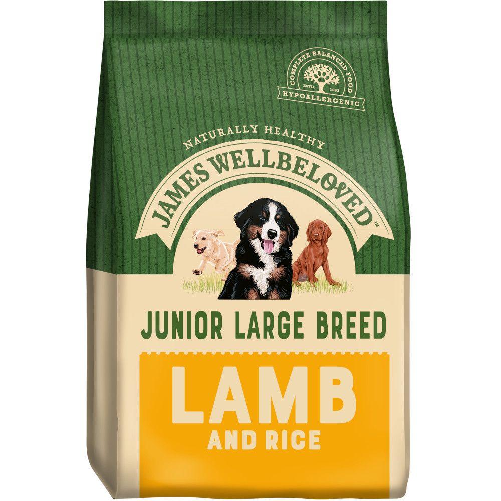 James Wellbeloved Junior Large Breed - Lamb & Rice - 15kg