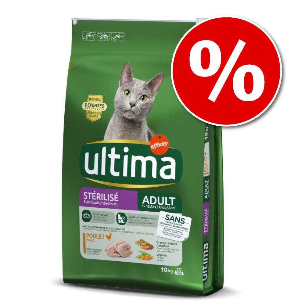 2x7,5kg Système Urinaire Ultima - Croquettes pour chat