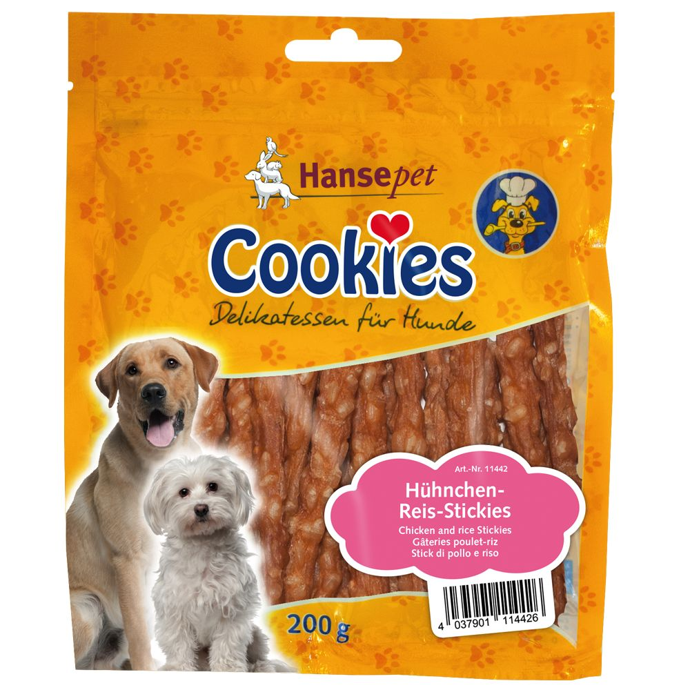 Cookie's Delicatessen Chicken and Rice Sticks - 200g