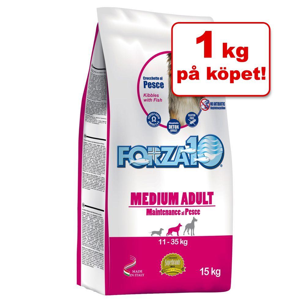 14 + 1 kg på köpet! 15 kg Forza 10 hundfoder – Maintenance Light med tonfisk & ris