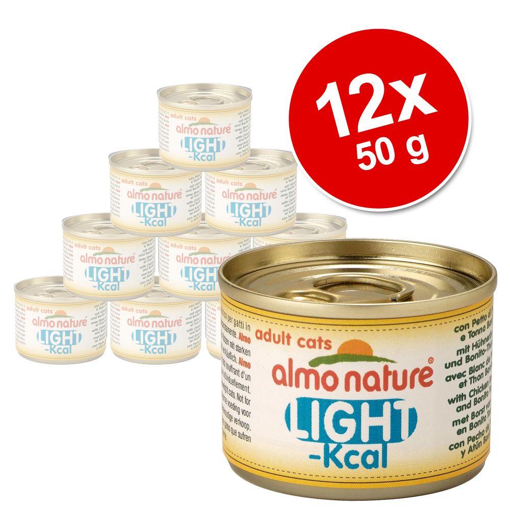 Korzystny pakiet Almo Nature Light, 12 x 50 g - Pierś kurczaka