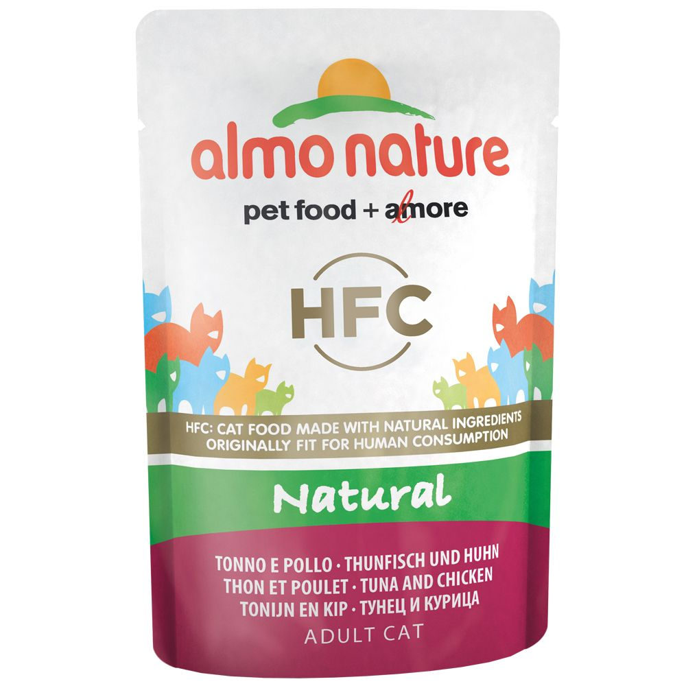 3 Tuna in Jelly Varieties Almo Nature Classic Wet Cat Food