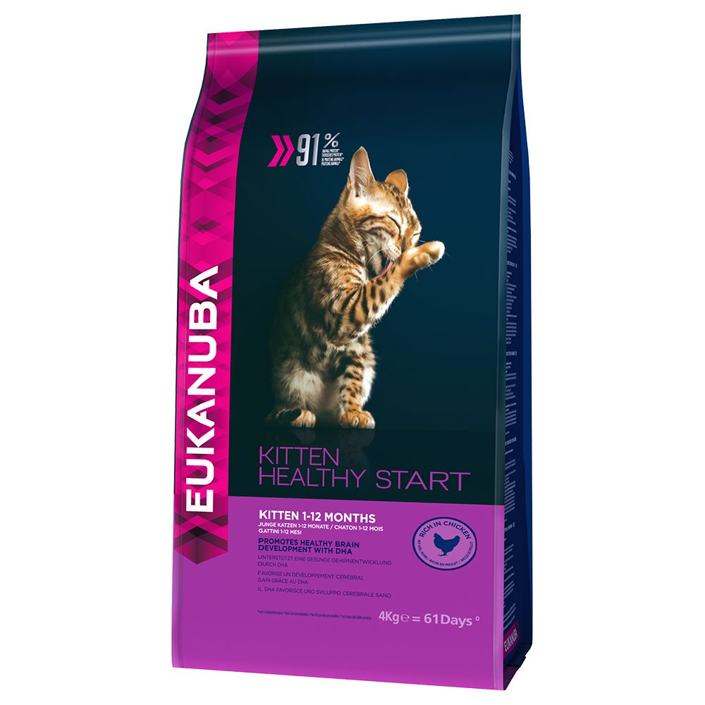 Image of Eukanuba Kitten Healthy Start - 4 kg