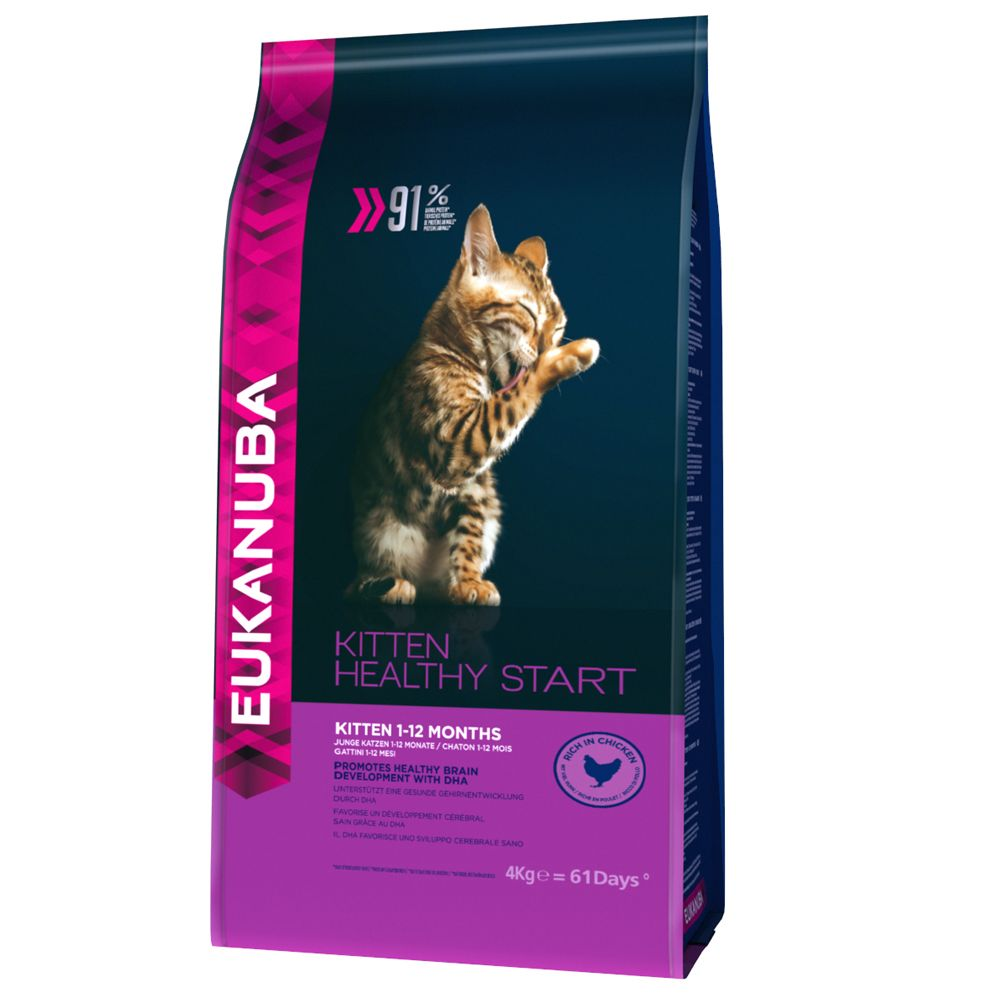Eukanuba Healthy Start Kitten - 4 kg